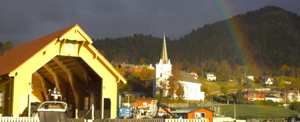 Emirates Norway town with Rainbow