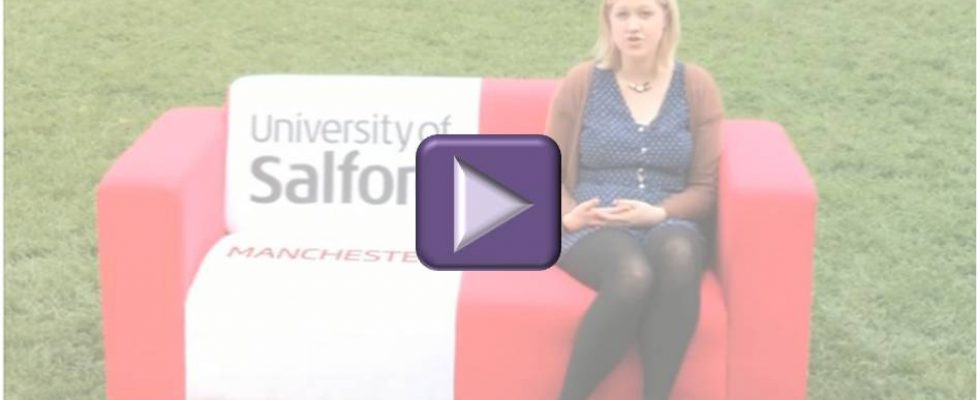 University of Salford prospectus video thumbnail