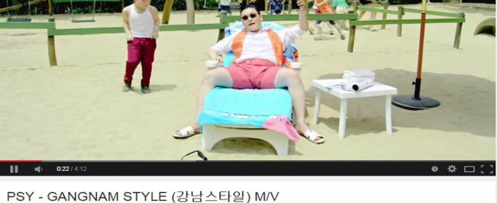 gangnam breaks YouTube